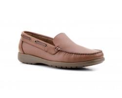 Nautical Moccasin Man Brown Leather Iberico IBERICO-350049,90€
