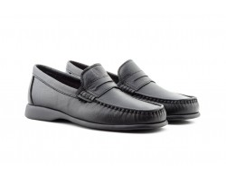 Kiowa Moccasin Man Black Leather Antifaz Carrús CARRÚS-60244,90 €