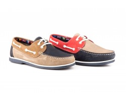 Nautical Men Leather Nubuck Tricolor Laces Sachini SACHINI-1018/249,00 €