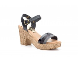 Women's Sandals Leather Platform Heel Lemon LIMÓN-1800344,90 €