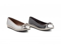 Ballerinas Woman Leather Tie Platform JAM JAM-102539,90 €
