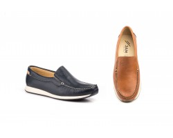 Boots Moccasin Man Leather Sea Leather Leather White Ibérico IBERICO-K30059,90€