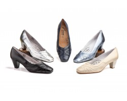 Zapatos Mujer Piel Serpiente Tacón JAM-5202 49,90€