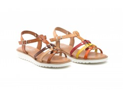 Women's Sandals Multi Natural Leather Vaquetailla JAM JAM-200939,90 €