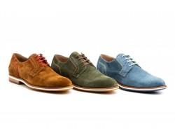 Shoes Blucher Men's Leather Split Leather Moss Levis Diluis DILUIS-209059,90€