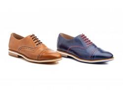 Zapatos Oxford Hombre Piel Napa Polisander DILUIS-2100 59,90€
