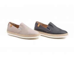Zapatos Mocasín Hombre Piel Napa Yute DILUIS-3142 59,90€