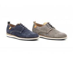 Zapatos Derby Hombre Piel Serraje Picado DILUIS-4213 59,90€