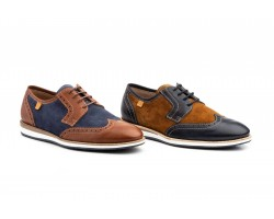 Zapatos Blucher Hombre Piel Napa Serraje DILUIS-4230 59,90€