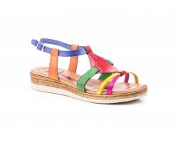Sandalias Mujer Piel Multicolor Cuero Yute MODAPIEL-2124 39,90€
