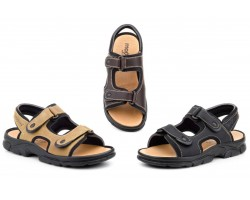 Sandals Californian Men's Skin Black Brown Adventure Morxiva MORXIVA-700139,90 €