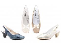 Zapatos Mujer Piel Tacón Bajo JAM-5216 49,90€