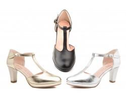 Zapatos Mujer Piel Plataforma Tacón Annora-3027 49,90€