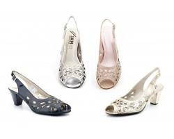 Zapatos Mujer Piel Láser Tacón Hebilla JAM-5124 54,90€