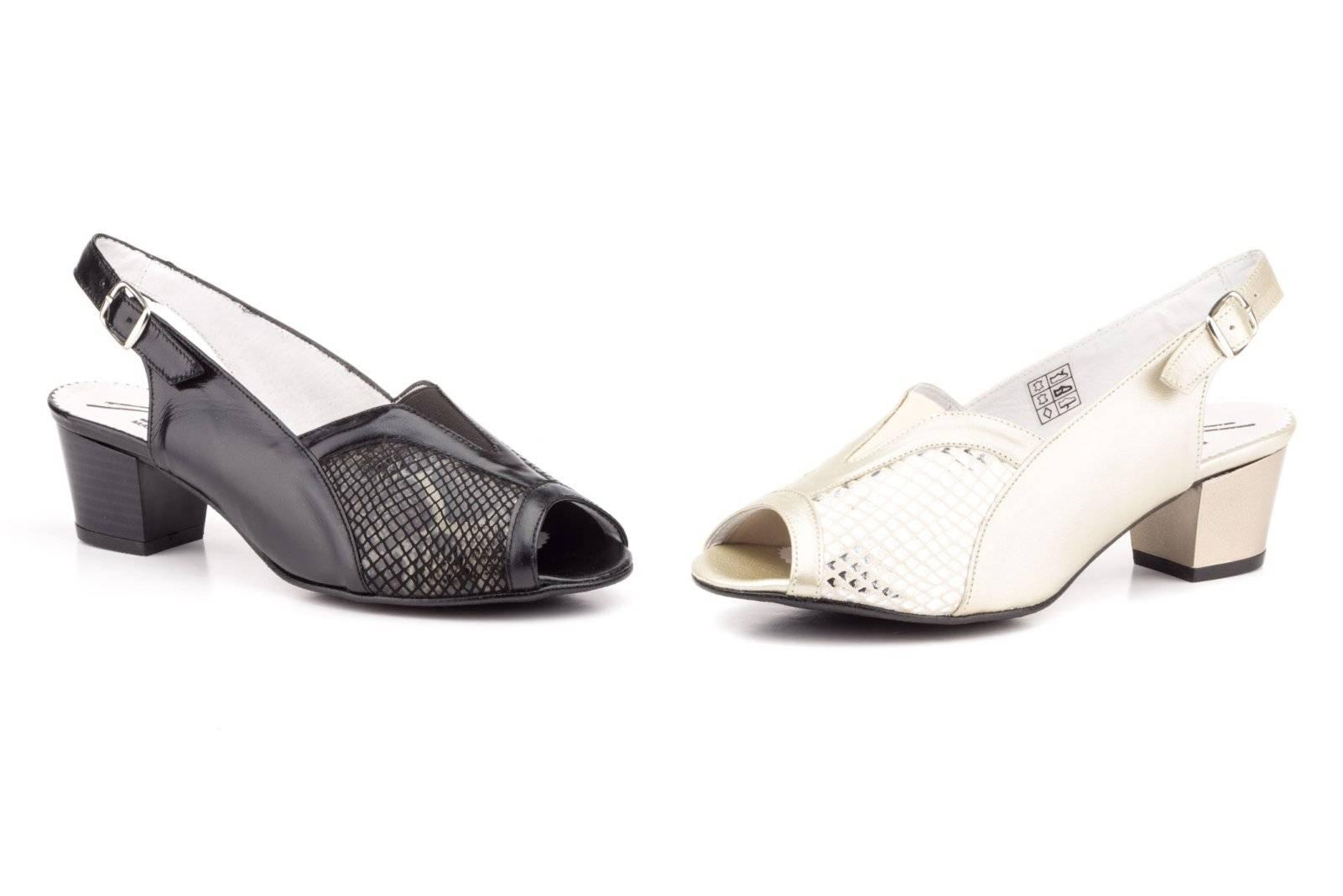 206e279f0bb8 Zapatos Mujer Piel Licra Ancho Especial Tacón