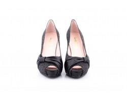 Women's Shoes Luminor Black Platform Heel Jennifer Pallarés JENNIFER-PALLARES-72002459,90€