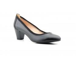 Zapatos Salón Mujer Piel Negro Tacón Tallas Grandes JAM-3804 53,90€