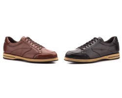 Zapatos Hombre Piel Negro Marrón Cordones Tallas Grandes CARLO-GARELI-1275 79,90€