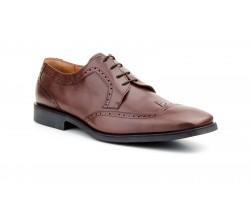 Zapatos Blucher Hombre Piel Negro Marrón Tallas Grandes CARLO-GARELLI-1400XXL 79,90€