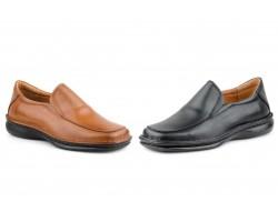 Zapatos Crispinos Hombre Piel Negro Marrón Tallas Grandes CACTUS-60101XXL 69,90€