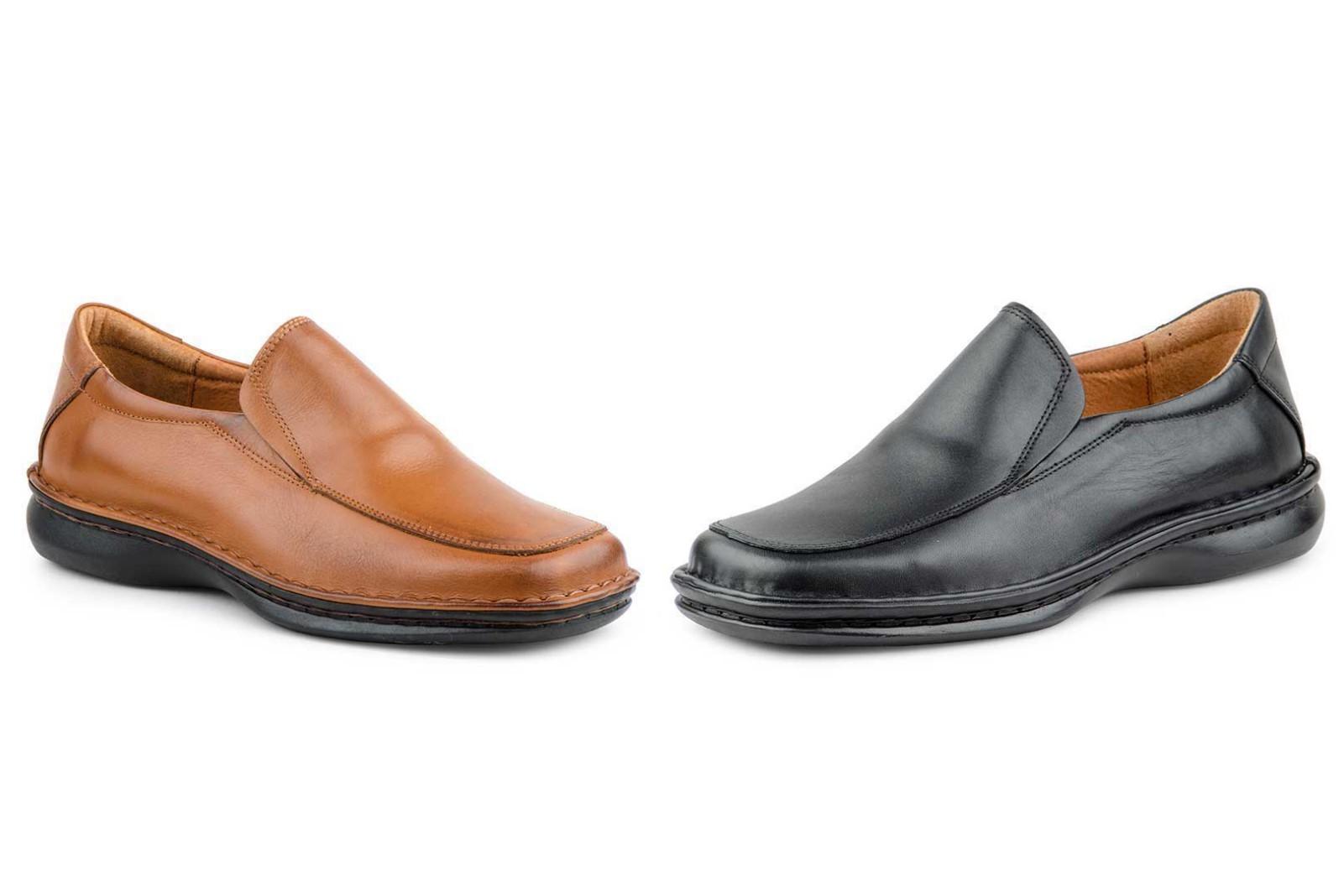 82d429bd Zapatos Crispinos Hombre Piel Negro Marrón Tallas Grandes CACTUS-60101XXL  69,90 €
