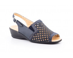 Women's Sandals Navy Wide Special Leather GAVIS-630454,90 €