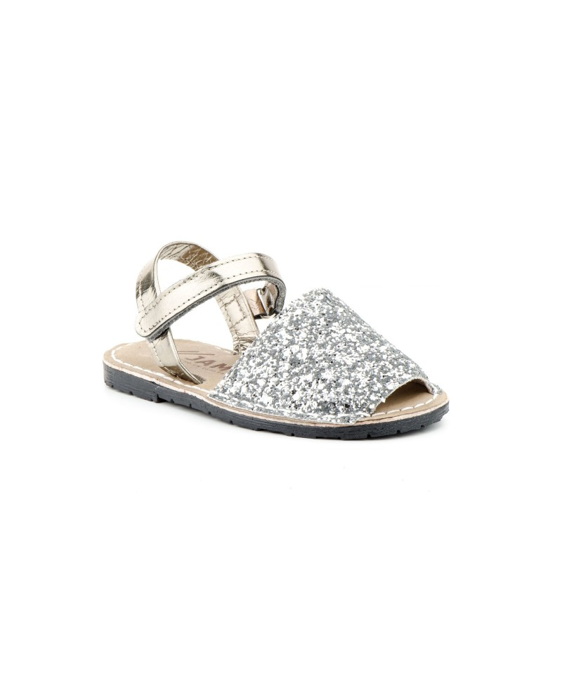 Avarca Menorquinas Children Glitter Multi Gold Silver Pink Velcro Padded MENORQUINA-670124,90€