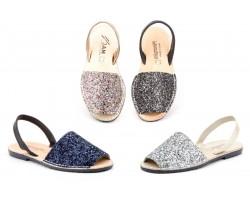 Avarcas Menorquinas Mujer Glitter Multi Acolchada MENORQUINAS-6700 24,90€