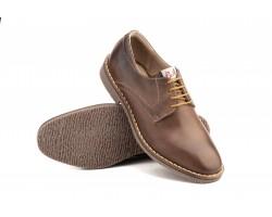 Zapatos Derby Hombre Piel Marrón Cordones PEPE-AGULLO-1516 49,90€