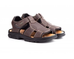 Sandalias Californianas Men Brown Leather Morxiva MORXIVA-700839,90 €