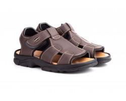 Sandalias Californianas Men Brown Leather Morxiva MORXIVA-700839,90€