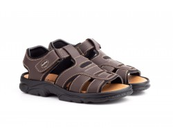 Sandalias Californianas Men Brown Leather Morxiva MORXIVA-701339,90 €