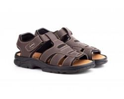 Sandalias Californianas Men Brown Leather Morxiva MORXIVA-701339,90€
