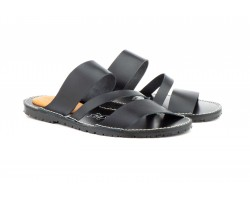Black Leather Men's Sandals Nomads NOMADAS-11619,90 €