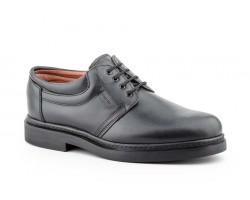 Men's Shoes Black Leather Derby Laces Good Ibérico IBERICO-45945,50€