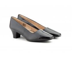 Zapatos Salón Mujer Piel Negro Tacón JAM-605 39,90€