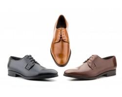 Zapatos Blucher Hombre Piel Bufalino Negro CG-501 59,50€