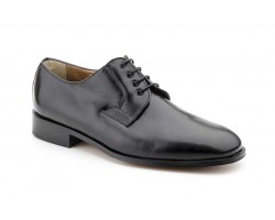 Men's Shoes Black Leather Special Wide Leather Sole Nikkoe NIKKOE-1159,50 €
