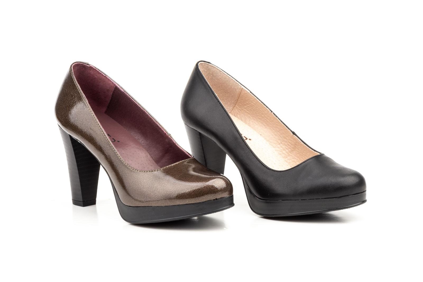 Negro y Mujer Zapatos Tacón Enzo Piel Salón Alto 59 Armento SHOES 3950 AGATHA qw6qTt