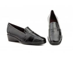 Zapatos Mujer Piel Combianda Negro Bronce Marino JAM-557949,00€