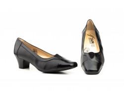 Zapatos Mujer Piel Negro Tacón JAM-5577 49,00€