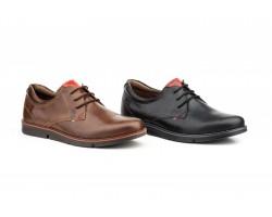 Zapatos Bluche Hombre Piel Napa Negro Marrón Cordones PEPE-AGULLO-1807744,90€