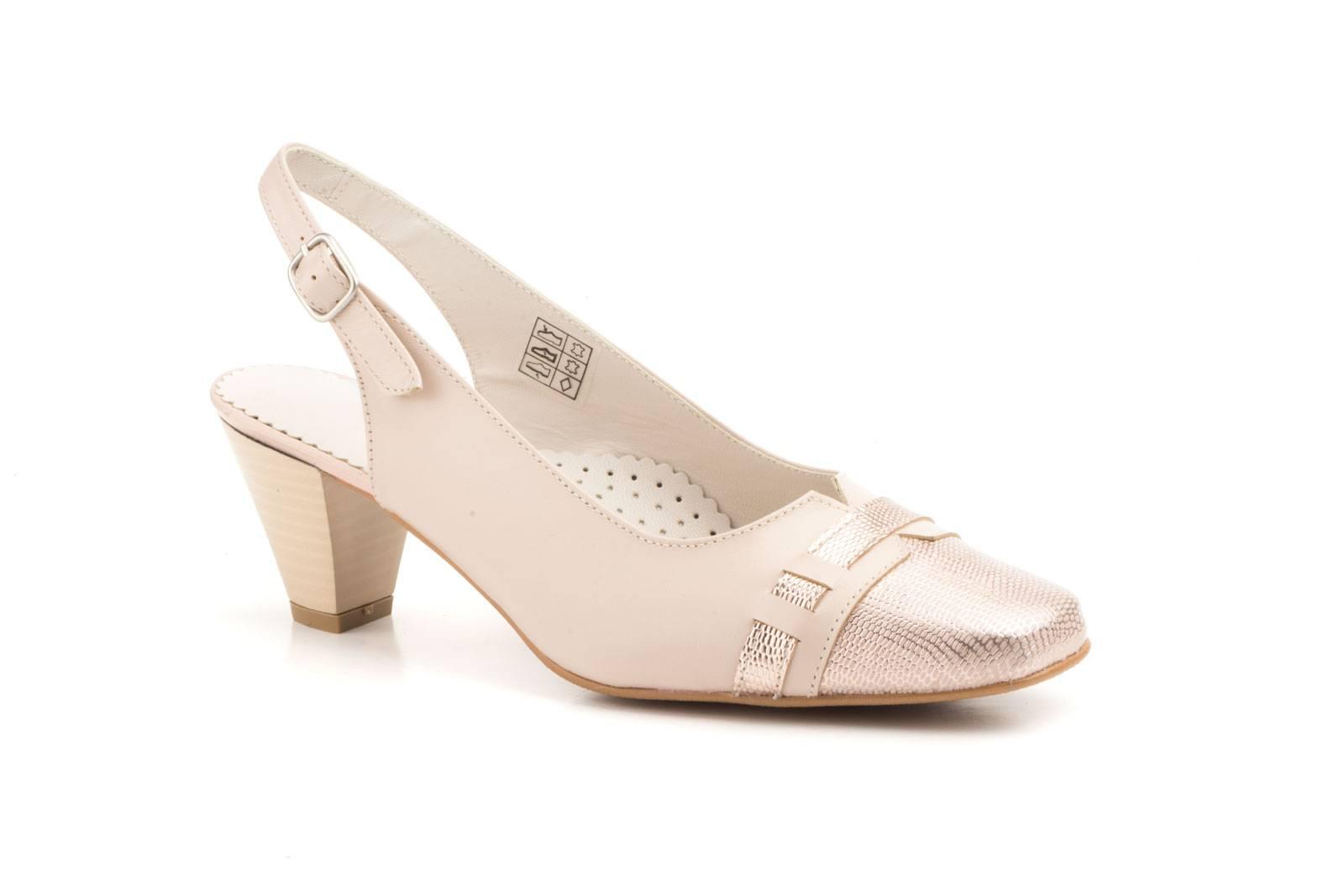 4cbc836f Zapatos Mujer Piel Rosa Serpiente Tacón 5522-ROSA 49,90 €