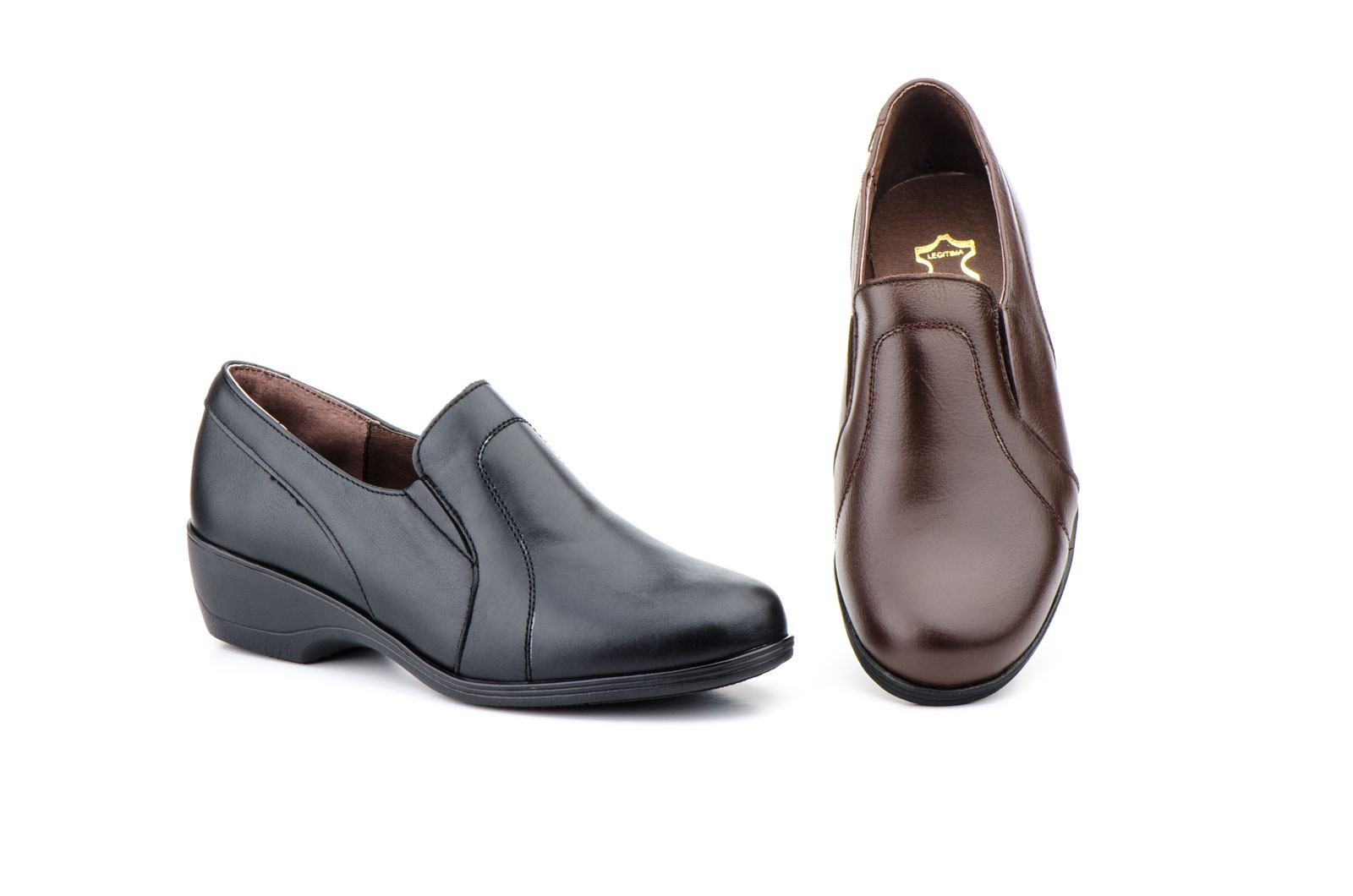 Zapatos Mujer Ancho Especial Piel