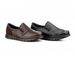 Zapatos Hombre Piel Napa Negra Flexible KL-2840 59,50€