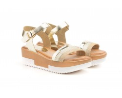 Women's Sandals Platinum Skin Platform Gel Buckle Limón LIMÓN-1800244,90 €