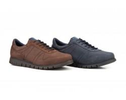 Zapatos Hombre Piel Nobuck Cordones KL-2876 59,50€