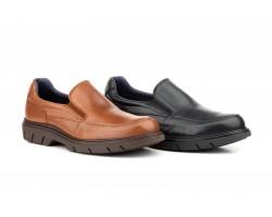Zapatos Hombre Moacasín Piel Elásticos KL-3880 59,50€