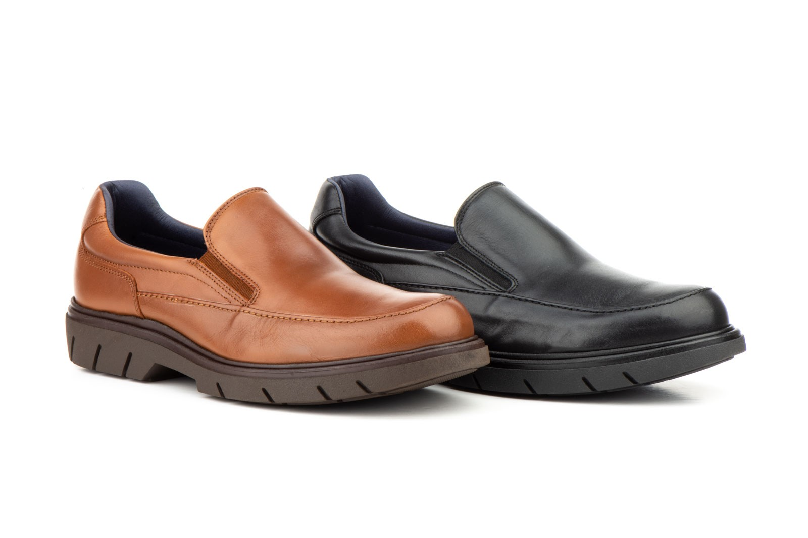 Zapatos Hombre Moacasín Piel Elásticos KL-388059,50€