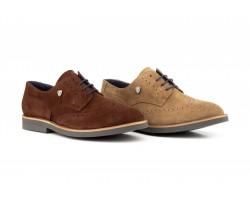 Zapatos Hombre Derby Serraje Cordones IBERICO-02 49,90€